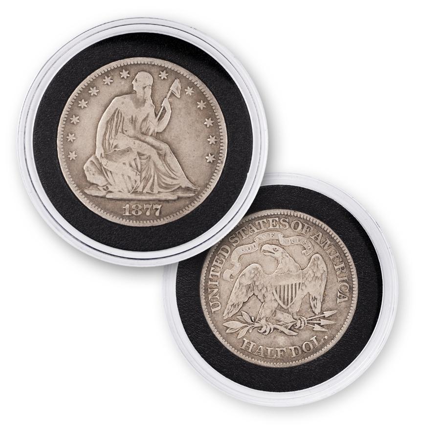 Seated Liberty Silver Half Dollar 1839 1891 Circulated Set