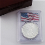 1993 Silver Eagle - WTC Certified