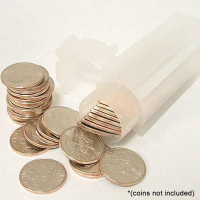 Coin Tube Dime Holds 50 Coins 17 9 Mm Quantity 10