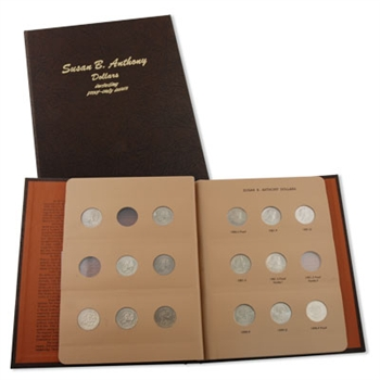 Susan B Anthony Collection - Uncirculated and Proof - Dansco Album