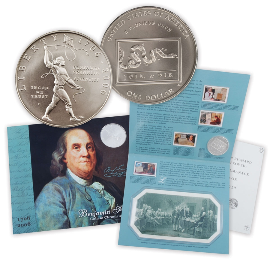 2006 Franklin Coin Amp Chronicles Set
