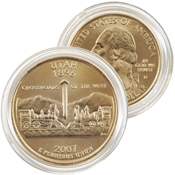 2007 Utah 24 Karat Gold Quarter - Denver