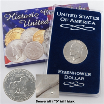 1971 Eisenhower Dollar - Denver - Uncirculated