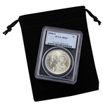 1898 Morgan Silver Dollar - New Orleans ( O ) - Certified 63