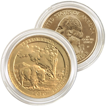 2010 Yellowstone 24 Karat Gold Quarter - Denver