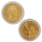 2008 James Monroe Presidential Dollar - Proof - San Francisco