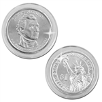 2008 James Monroe Presidential Dollar - Platinum - Philadelphia