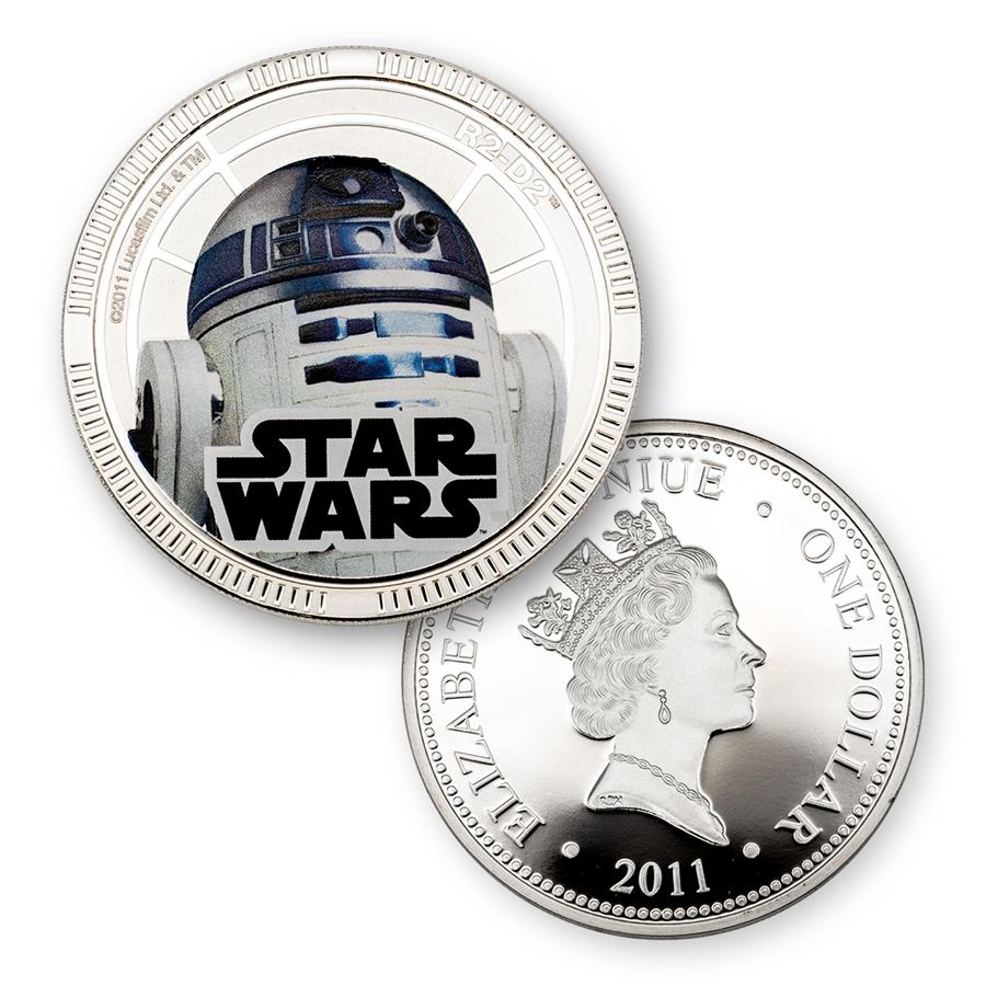 2011 Star Wars R2 D2 Star Wars Coin