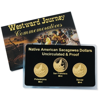 2013 Sacagawea Native American Dollar - P/D/S