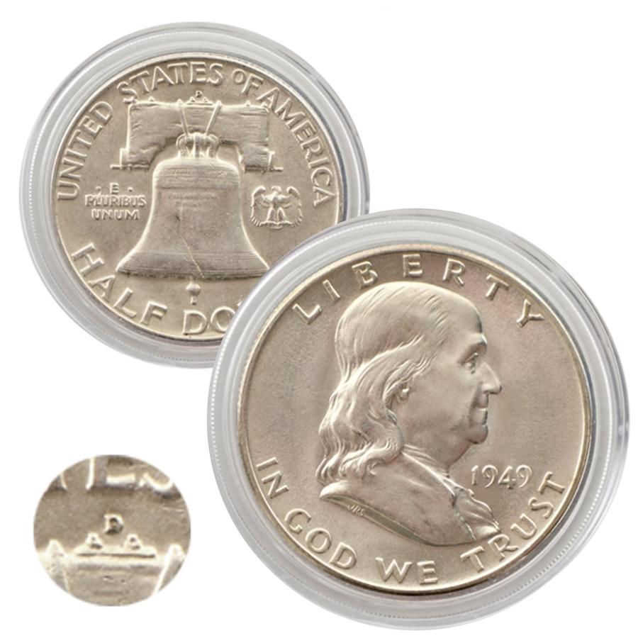 1949 Franklin Half Dollar Denver Uncirculated