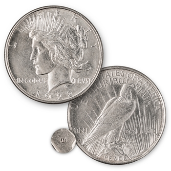 1922 Peace Dollar Denver Mint Uncirculated