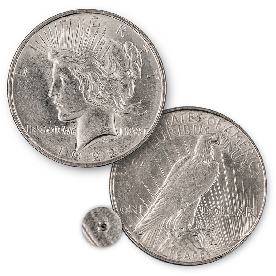 1922 Peace Dollar San Francisco Mint Uncirculated
