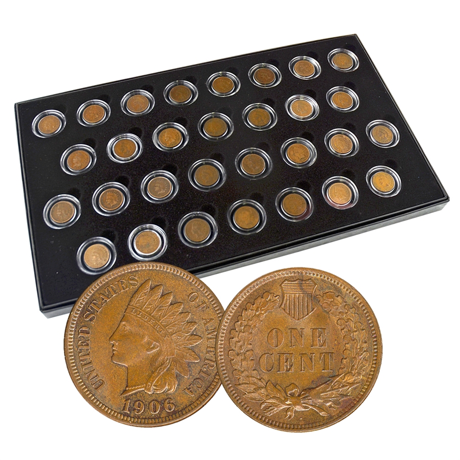 Last 30 Years Of Indian Cents 30 Coin Collection 1880