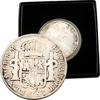 America's First Silver Dollar - 8 Reales