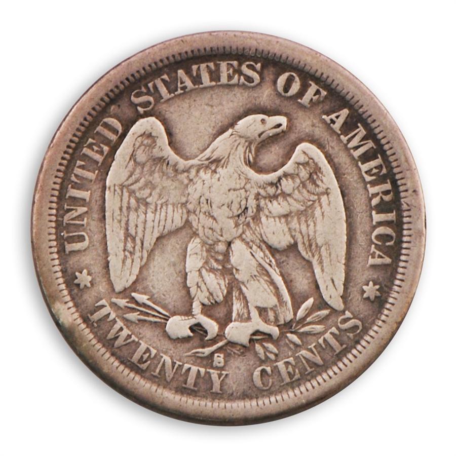 20 Cent Piece 1875 1876