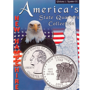 2000 New Hampshire State Quarter Album