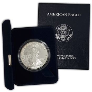 2001 Silver Eagle Government Issue - Proof