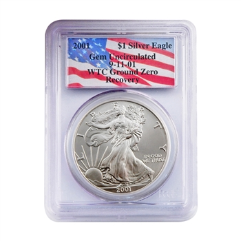2001 Silver Eagle - WTC Certified