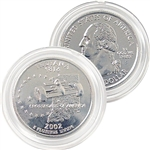 2002 Indiana Platinum Quarter - Denver Mint