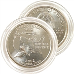 2002 Louisiana Uncirculated Quarter - Denver Mint