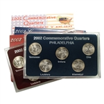 2002 Quarter Mania Set - Philadelphia and Denver Mint