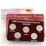 2002 Quarter Mania Uncirculated Set - Denver Mint