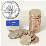 2003 Illinois Quarter Roll - Philadelphia Mint