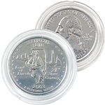 2003 Illinois Platinum Quarter - Denver Mint