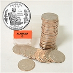 2003 Alabama Quarter Roll - Denver Mint