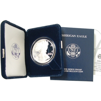 2003 Silver Eagle Government Issue - Proof