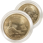 2003 Maine 24 Karat Gold Quarter - Philadelphia