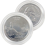 2003 Maine Platinum Quarter - Denver Mint