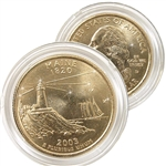 2003 Maine 24 Karat Gold Quarter - Denver