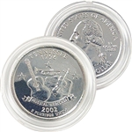2002 Tennessee Platinum Quarter - Philadelphia Mint