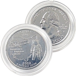 2002 Ohio Platinum Quarter - Philadelphia Mint