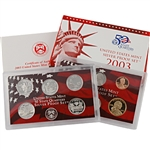 2003 US Silver Proof Set - Modern (10 pc)