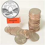 2003 Missouri Quarter Roll - Denver Mint