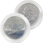 2003 Missouri Platinum Quarter - Denver Mint