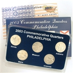 2003 Quarter Mania Uncirculated Set - Philadelphia Mint