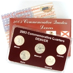 2003 Quarter Mania Uncirculated Set - Denver Mint