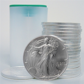 1994 Silver Eagle Government Roll of 20