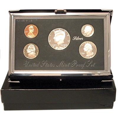 1993 S Silver Washington Quarter~PRDCAM~From US Mint Premier Silver Proof Set