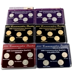 2000 Quarter Mania Uncirculated Set - Ultimate (6 Sets)
