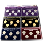 2001 Quarter Mania Uncirculated Set - Ultimate (6 Sets)