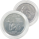 2004 Michigan Platinum Quarter - Philadelphia Mint