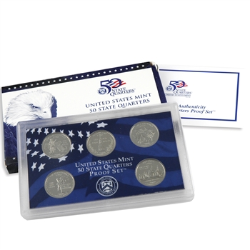 2000 50 State Quarters Proof Set - Original Government Packaging