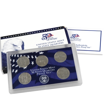 2001 50 State Quarters Proof Set - Original Government Packaging