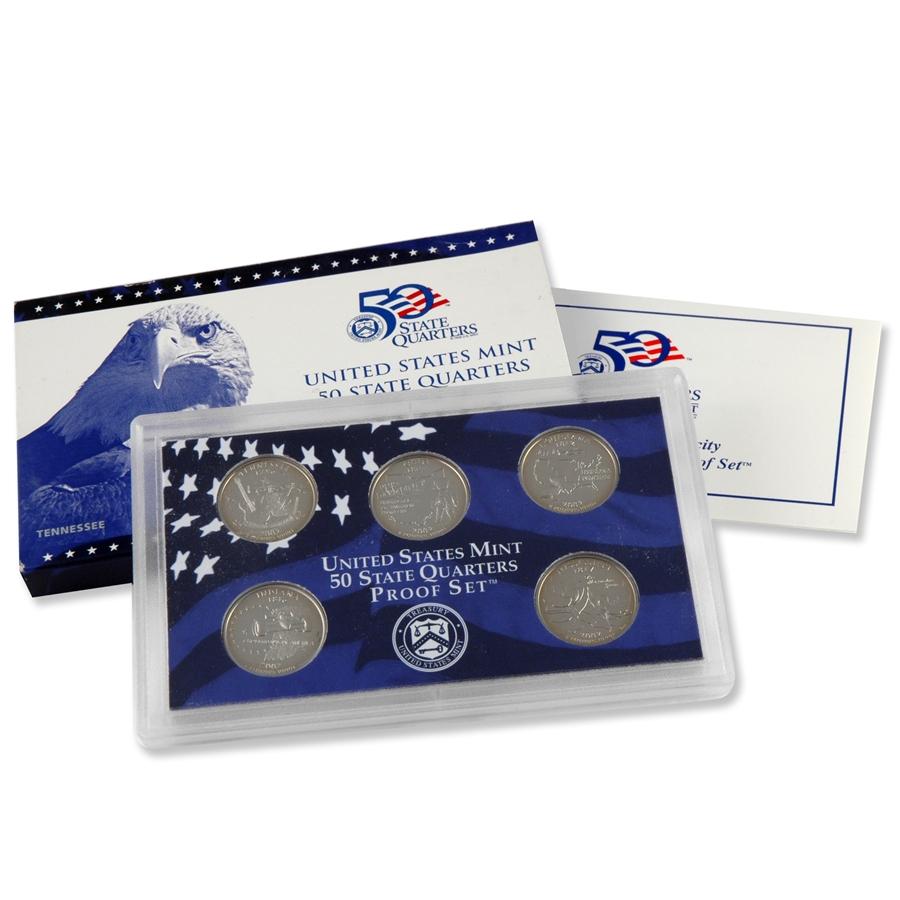 2002 United States Mint Proof Set With Original Box
