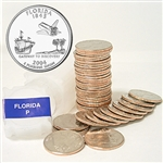 2004 Florida Quarter Roll - Philadelphia Mint