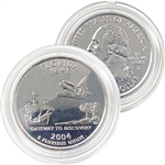 2004 Florida Platinum Quarter - Philadelphia Mint